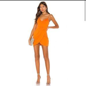 NWT SuperDown -  Tangerine - Mini Dress